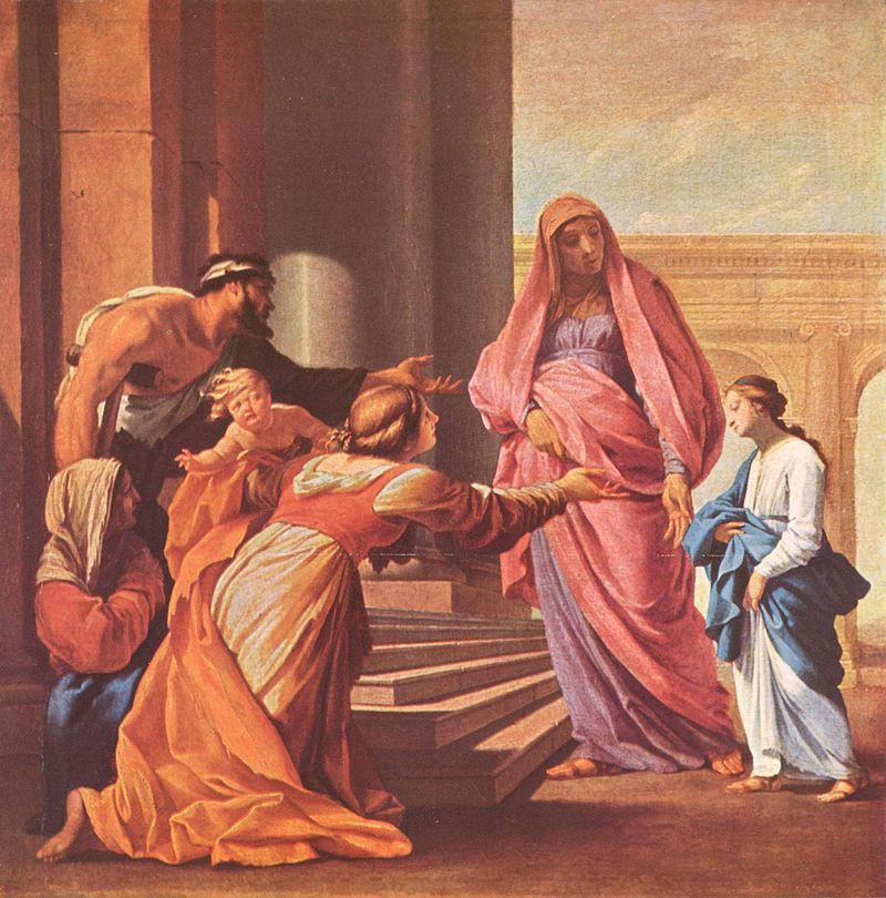Эсташ Лёсюёр. Введение Богородицы в храм.