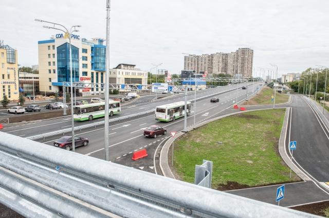 Новая развязка в Тюмени.