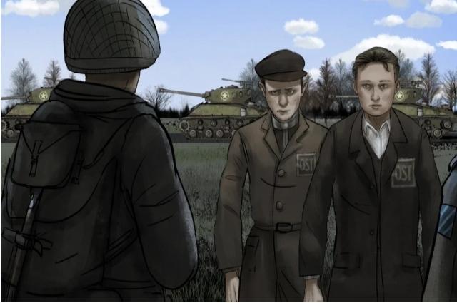 Кадр из серии