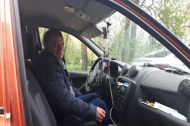 Николай Собот по счастливой случайности подвозил супругов до Пскова