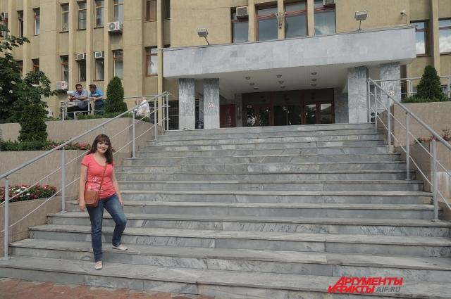 Краснодарскому Гидрометцентру принадлежат несколько кабинетов на 9 этаже здания краевой администрации