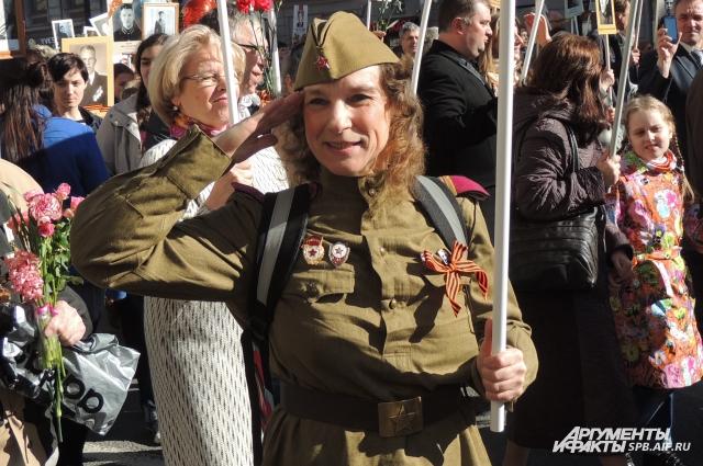 Георгиевская лента стала негласным символом Великой Победы.