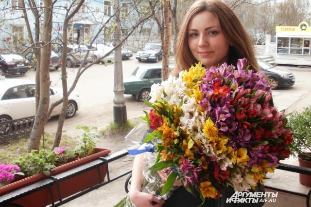 Флорист Ольга Егель