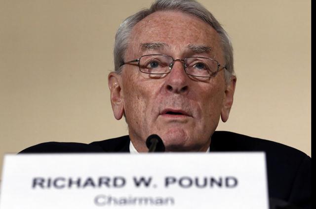Глава независимой комиссии WADA Ричард Паунд.