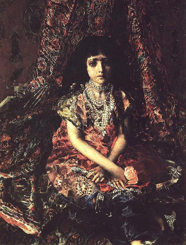 В настоящее время портрет находится в собрании Киевского музея русского искусства.
