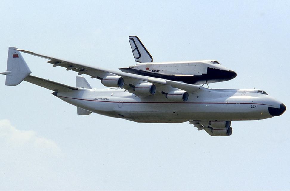 Ан-225 и «Буран».
