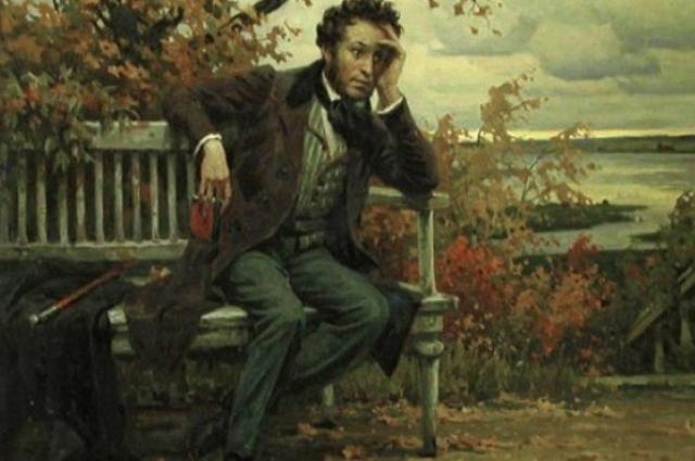 Пушкин считал свою жену ангелом.