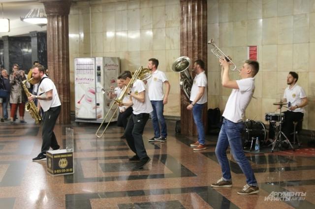 Brevis Brass Band.