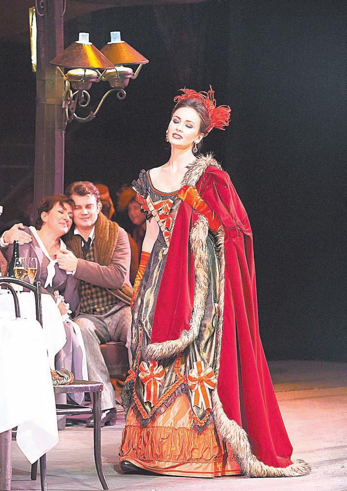 Мюзетта. В декабре А. Гарифуллина поёт в новой постановке  «Богемы» в Парижской национальной опере.