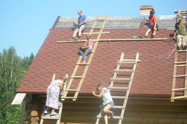Строительство дома семьи Соловей