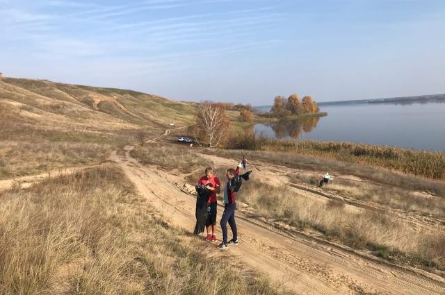 Совсем недавно активисты провели экопикник на Шиловском плацдарме