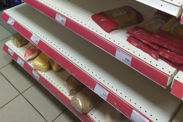 Ажиотаж в магазинах Оренбурга длился, к счастью, всего пару дней.
