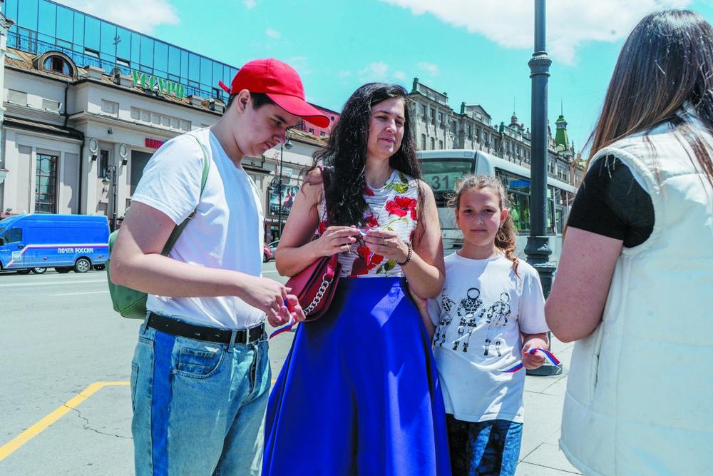 В акции принимают участие целыми семьями.