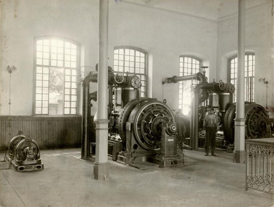 1893 г. Электростанция в Новороссийске