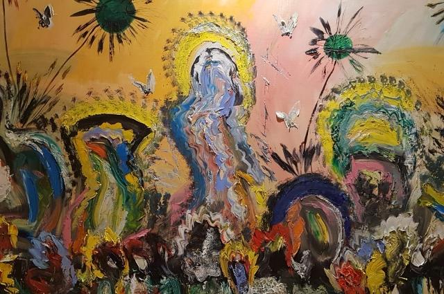 Выставка Васильевой наделала много шума.