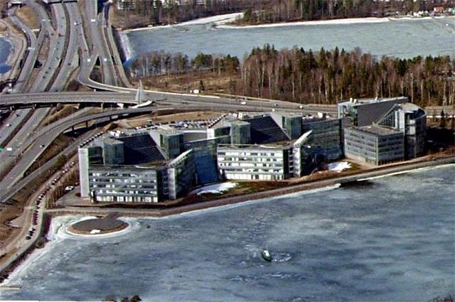 Штаб-квартира компании Nokia (до осени 2013).