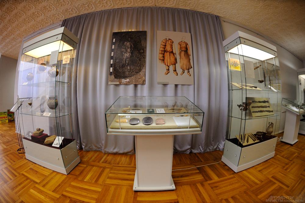 выставка в Майкопе, Национальный музей, археология