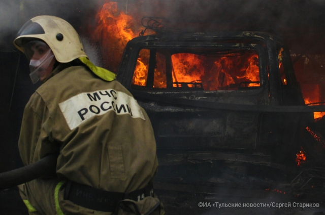 Пожар на улице Седова.