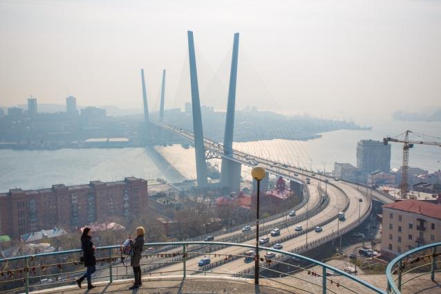 У Золотого моста во Владивостоке есть брат-близнец...