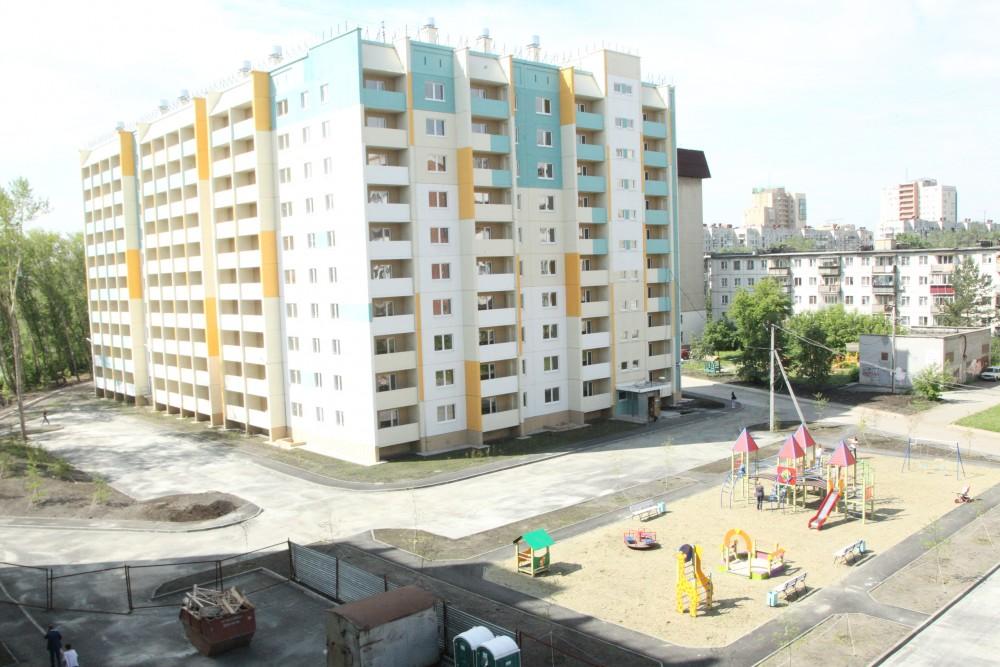 Новостройка в Челябинске.