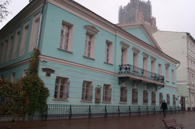 Дом-музей Пушкина на Арбате.