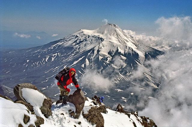 Восхождение, альпинист