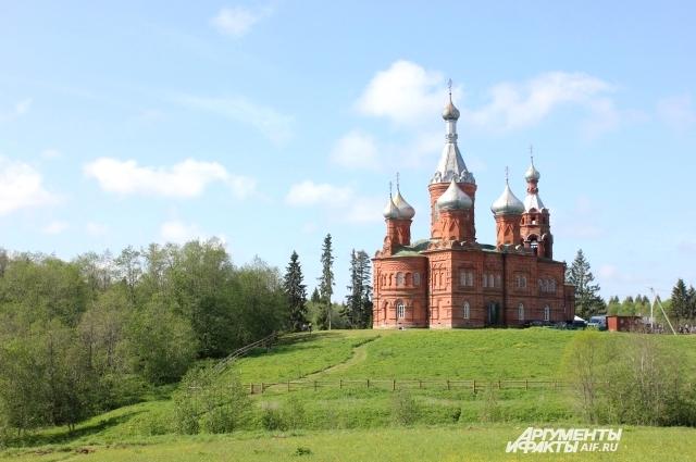 Ольгин монастырь, деревня Вологоверховье