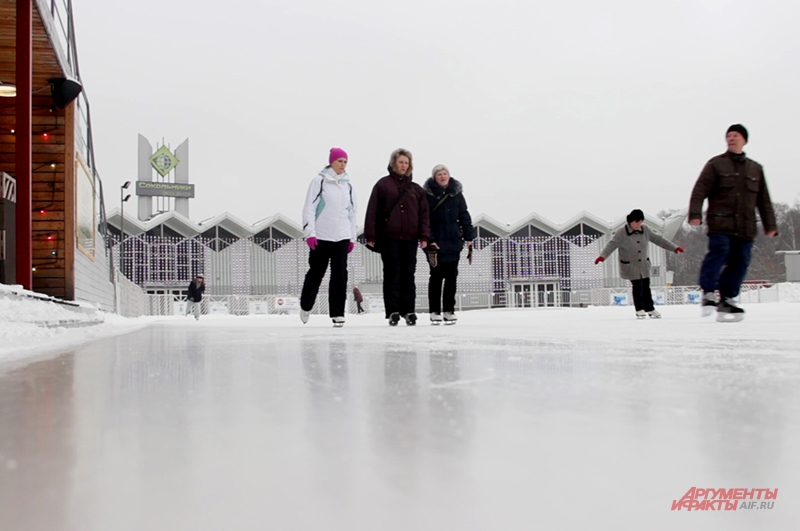 Безопасность катания во многом зависит от качества льда