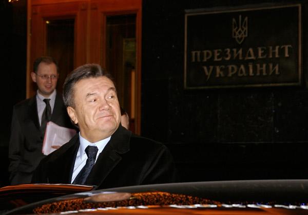 Премьер-министр Украины Виктор Янукович, 2007 год