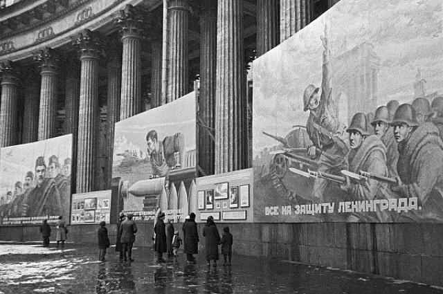 В Казанском соборе проводились выставки на различную тематику.