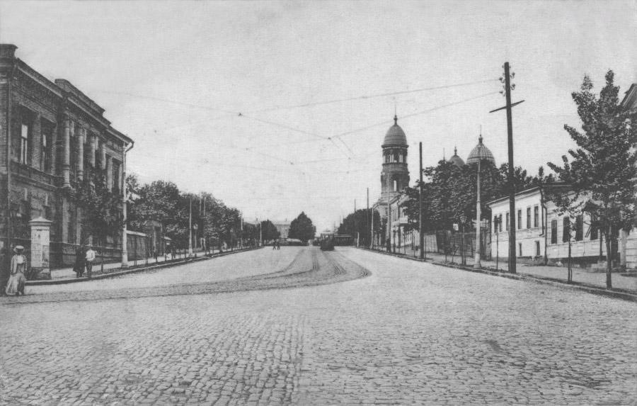 Площадь Толстого в Нахичевани-на-Дону
