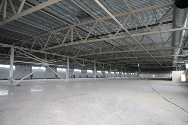 Площадь производственного корпуса – более 14 тысяч квадратных метров.