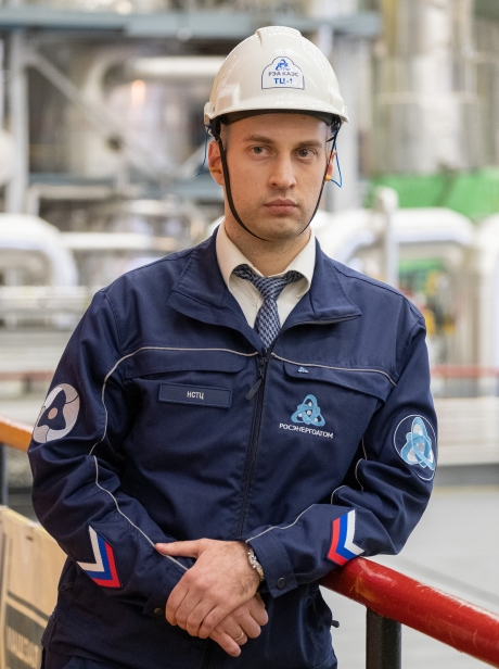 Иван Самченков трудится на атомной станции начальником смены ТЦ №1 – это одна из ключевых должностей технологического процесса.