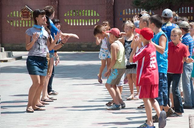летний лагерь, дети