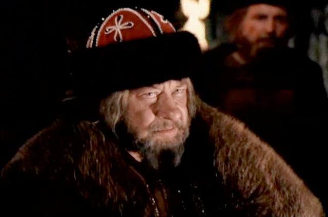 В роли Ивана Грозного. «Ермак», 1996