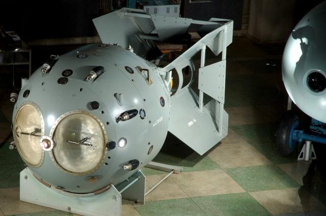 Первая советская атомная бомба РДС-1