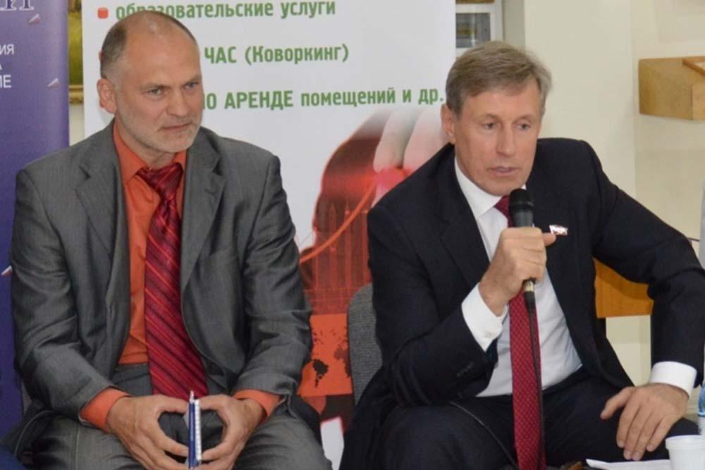 Виктор Гринкевич и Святослав  Лось.