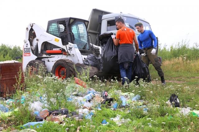 Весь мусор отправится во вторичную переработку.