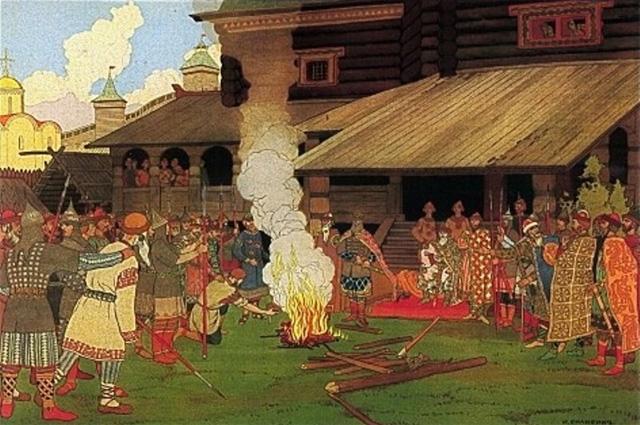 «Суд во времена Русской Правды», 1890 год