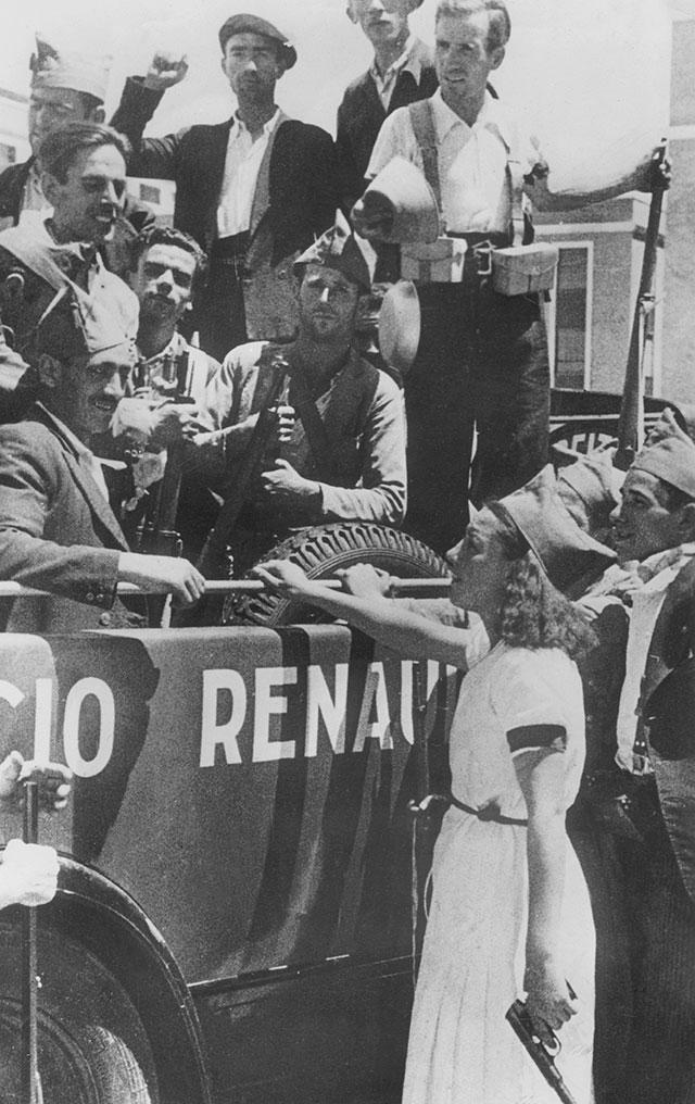 Испанские коммунисты, 1936 г.