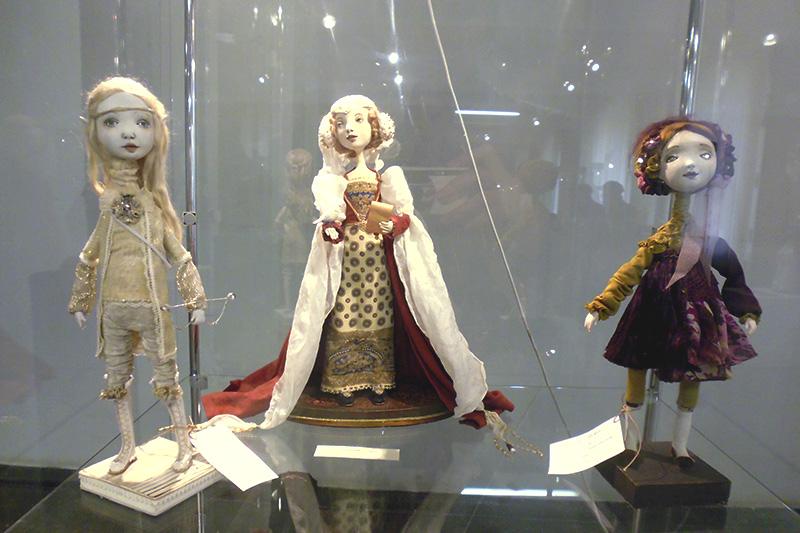 На выставке можно встретить как традиционных героев, так и совсем новых.