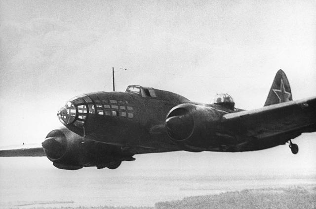Знаменитый бомбардировщик Ил-4, на котором Решетников летал в логово врага.