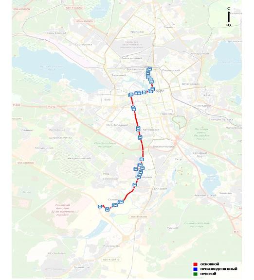 Автобус будет курсировать от ж/д вокзала до мкрн солнечный