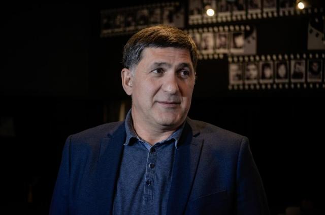 Актёр, режиссёр, заслуженный артист РФ Сергей Пускепалис.