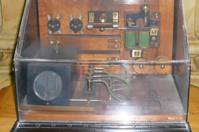 Судовая радио-приёмная станция А. С. Попова образца 1901 года.