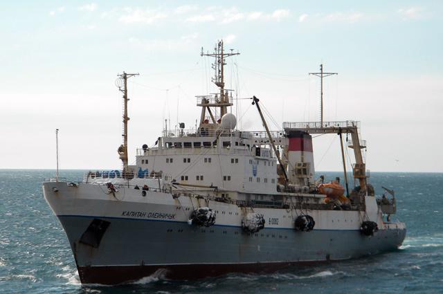 Рыболовно-крилевый супертраулер «Капитан Олейничук»