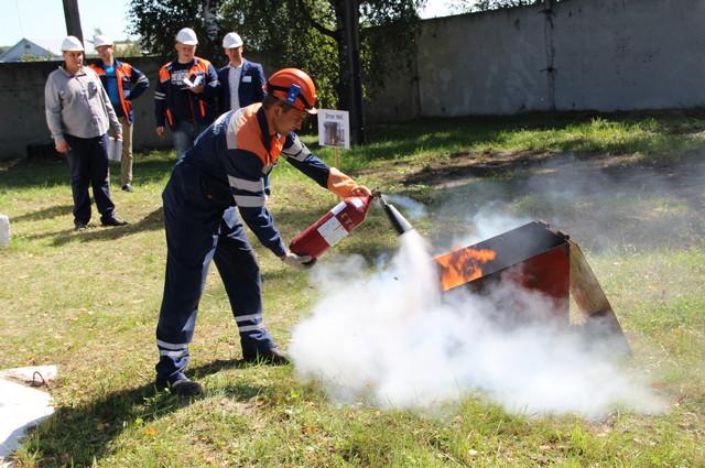 Этап 6. Ликвидация очага возгорания трансформатора в КТП-1