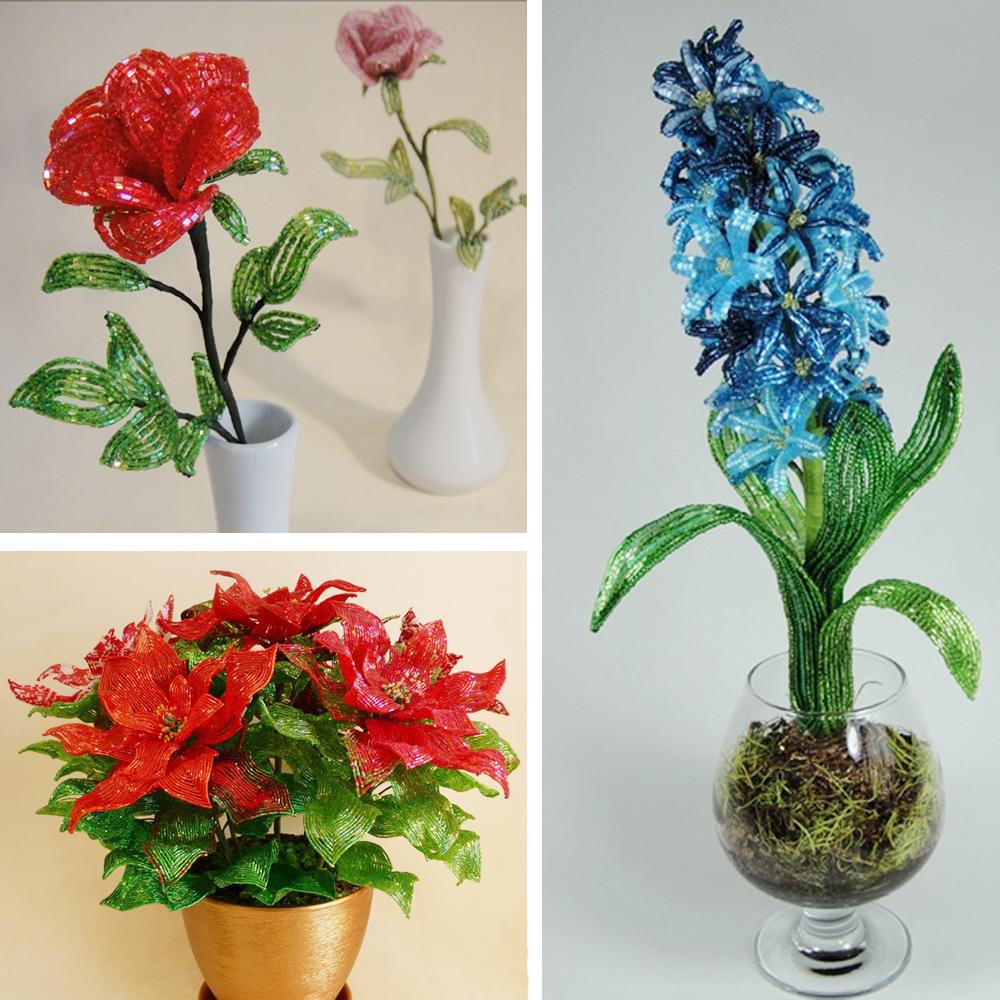 Произведения мастера бисерной флористики Светланы Сапегиной не единожды принимали за живые растения.