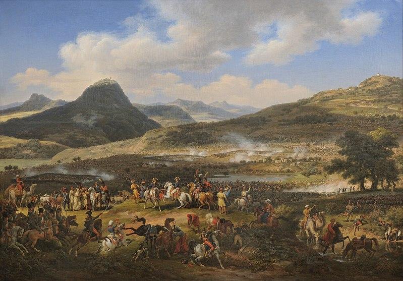 Луи-Франсуа Лежен. Битва под горой Табор.