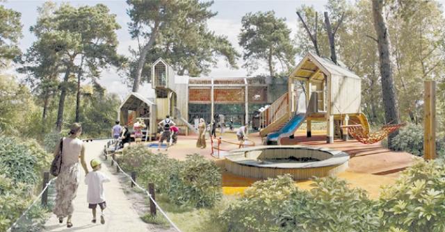 Минусинск представил проект благоустройства городского парка культуры и отдыха.